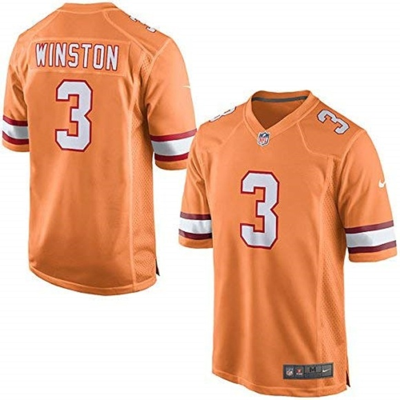 differently 702f7 ce964 NIKE TAMPA BAY BUCCANEERS WINSTON #3 YOUTH JERSEY NWT